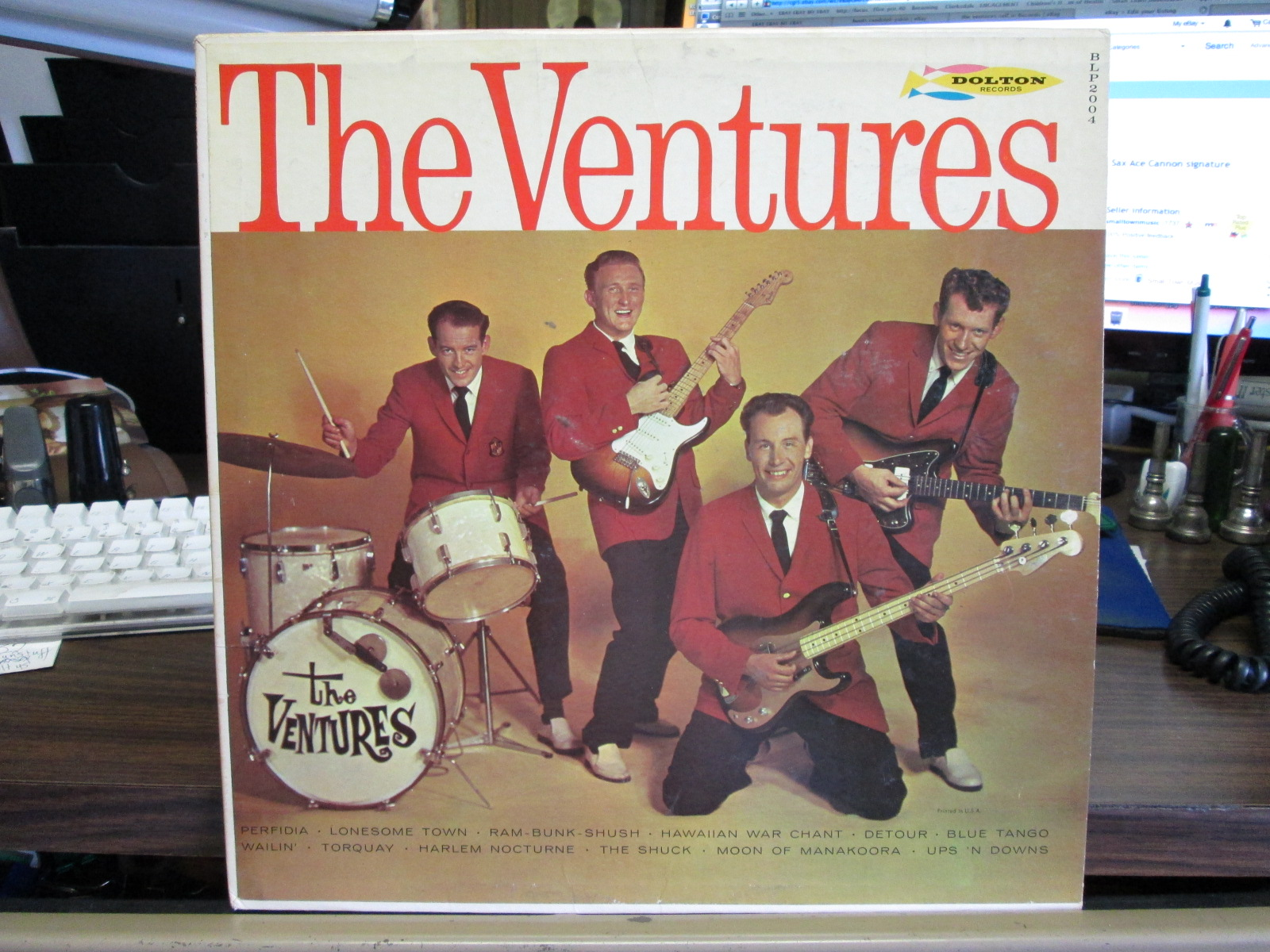 Cool 3 Record Lot Of The Ventures