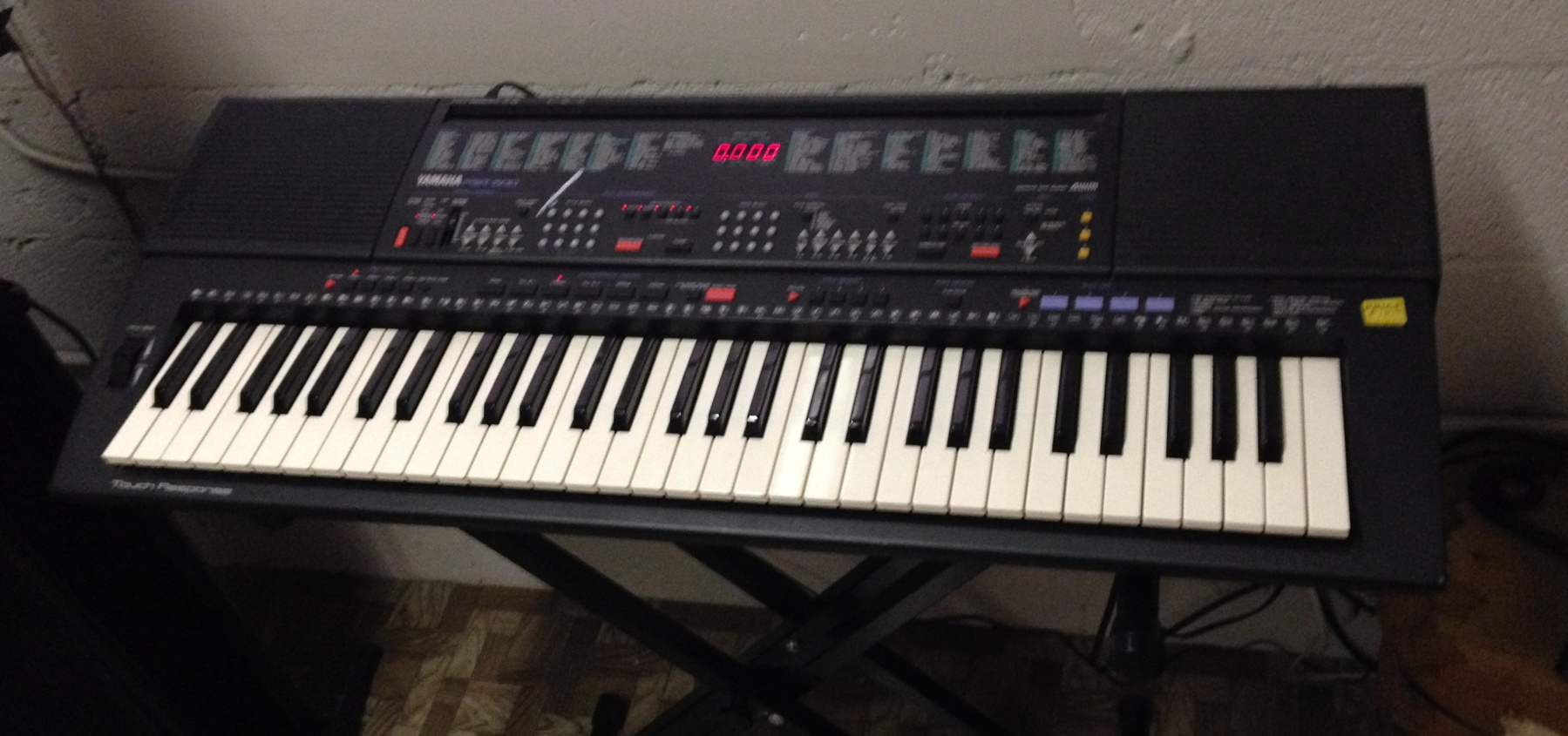 used yamaha psr 500 keyboard synthesizer organ work. Black Bedroom Furniture Sets. Home Design Ideas