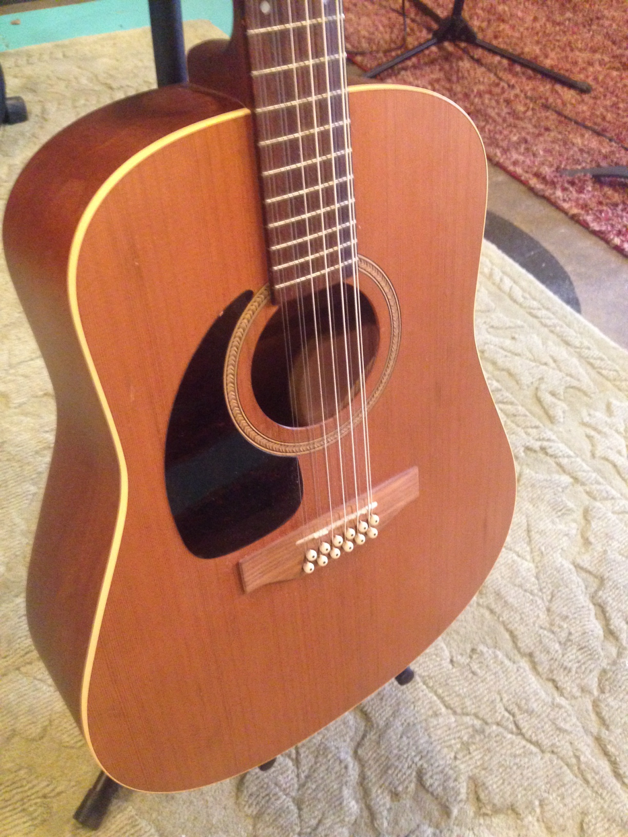 seagull lefty s12 12 string acoustic electric. Black Bedroom Furniture Sets. Home Design Ideas