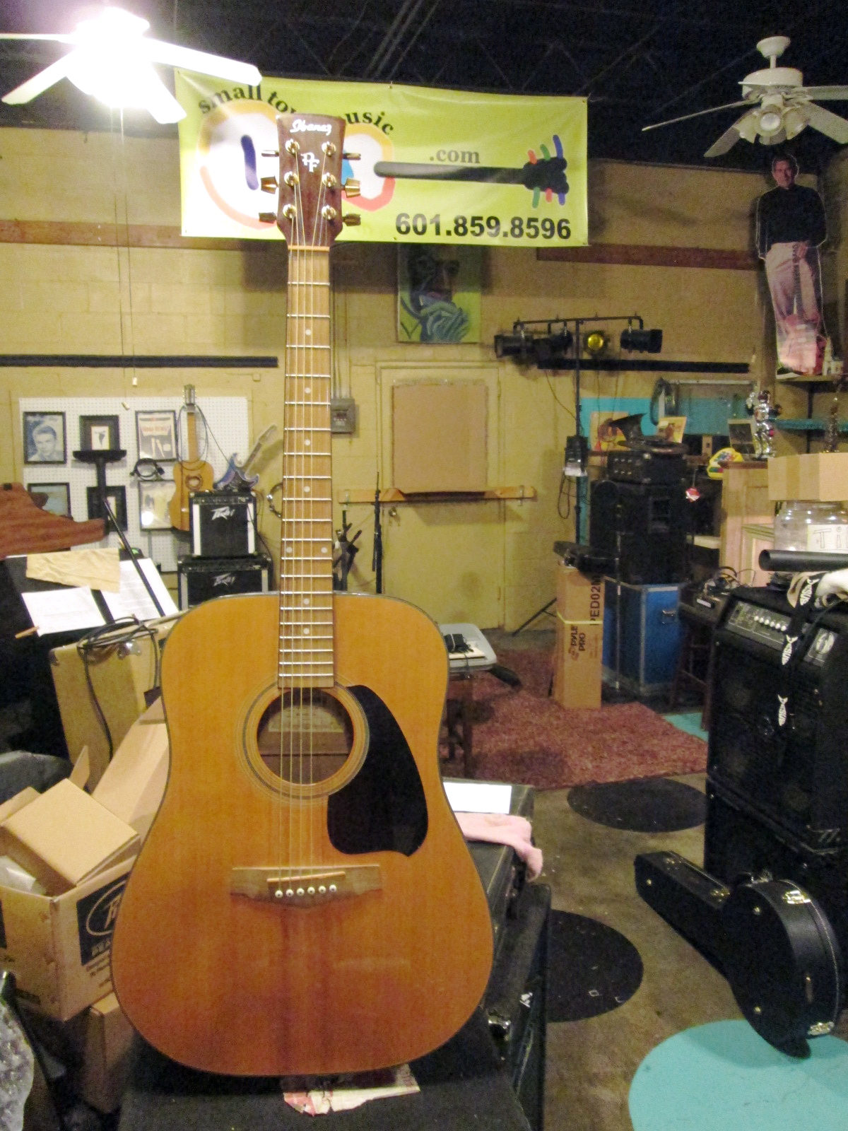 small town music in house inventory home page