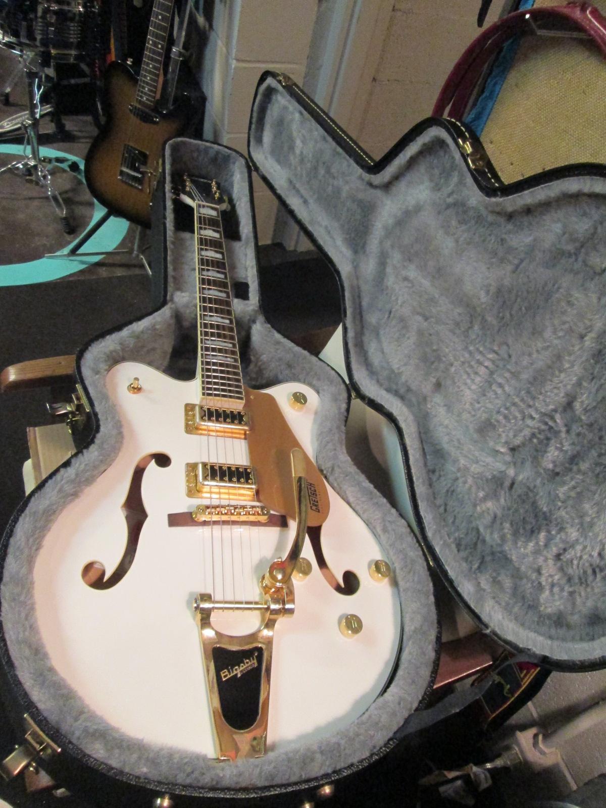 2009 Lyon LI15 Electric Guitar Bridge Original Chrome String Saddle