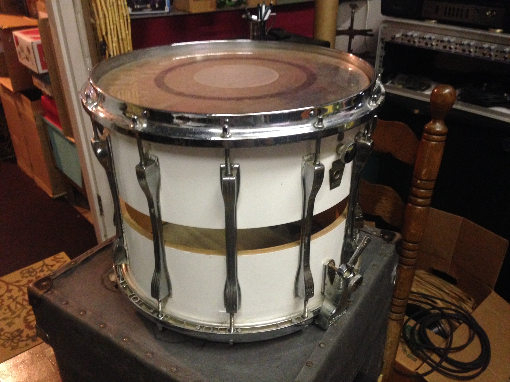 Ocamo DT-33 Drum Kit Drum Stick Bag + Maple Drum Stick + Transparent Mute Sticker